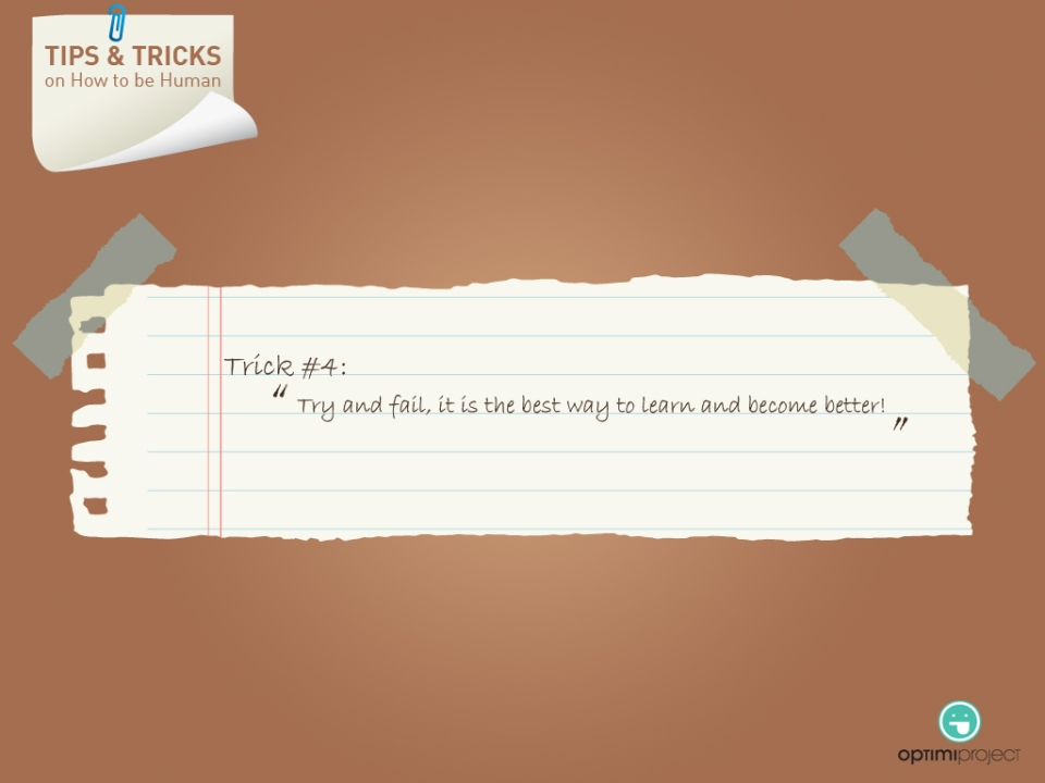 #4 Tips and Tricks 2013