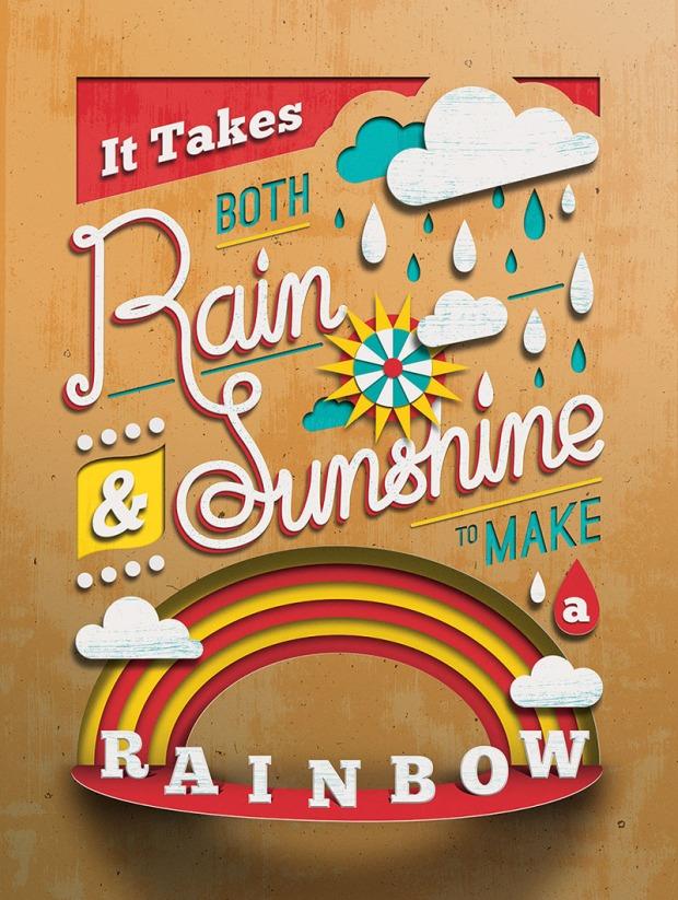Rain & Shine Print by Tommy Perez